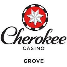 cherokee casino grove logo